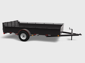 Single Axle - 3500 LBS GVWR - Floorplan