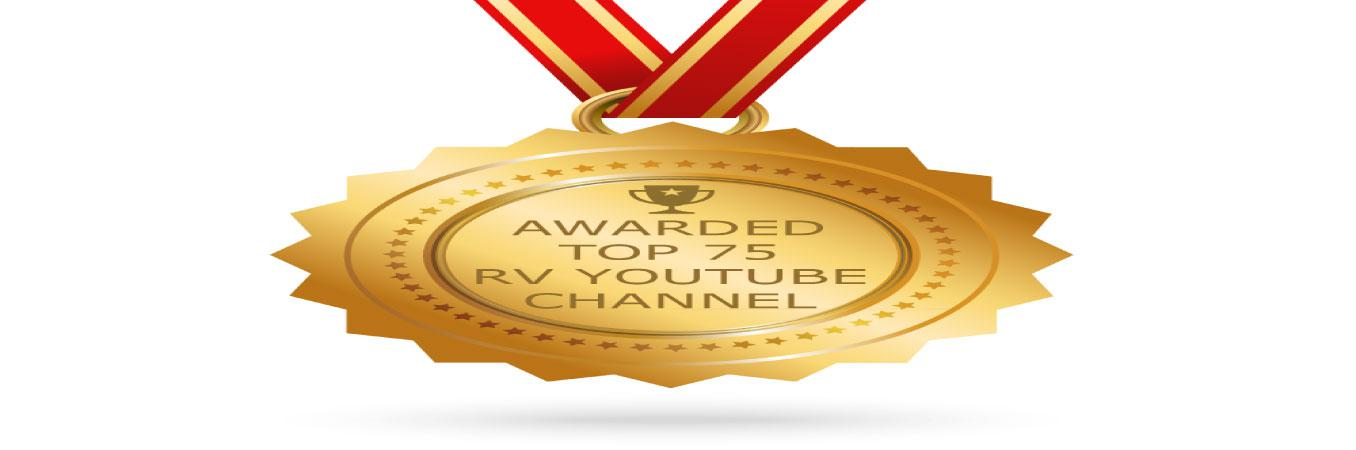 Bella Vista RV voted in top RV Youtube channels - Slide Image