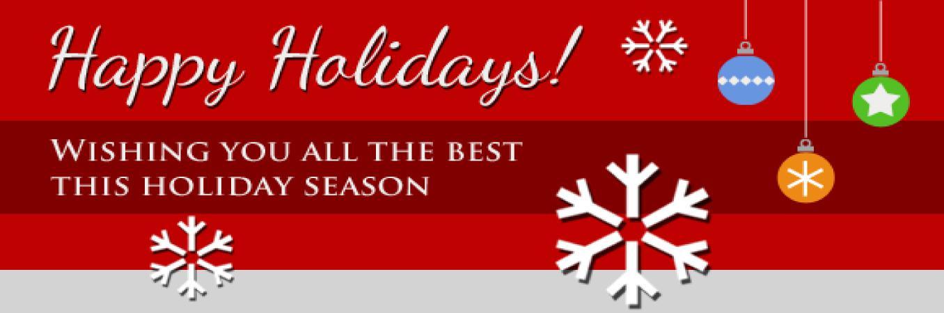 Holiday Closure - Slide Image