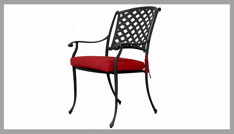 Cast Aluminum Dining Chairs